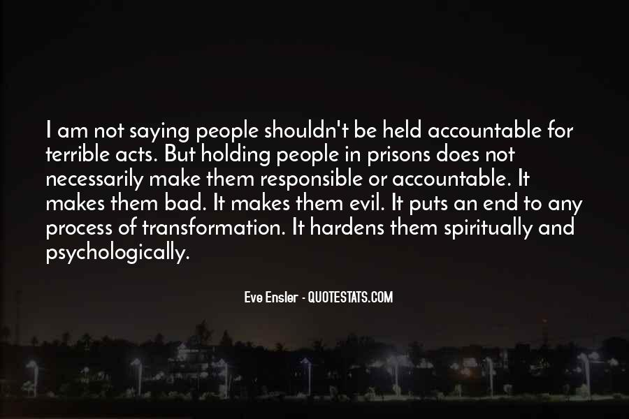 Quotes About Being Held Accountable #328511