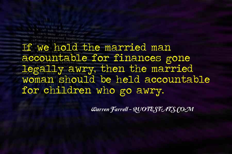 Quotes About Being Held Accountable #470378