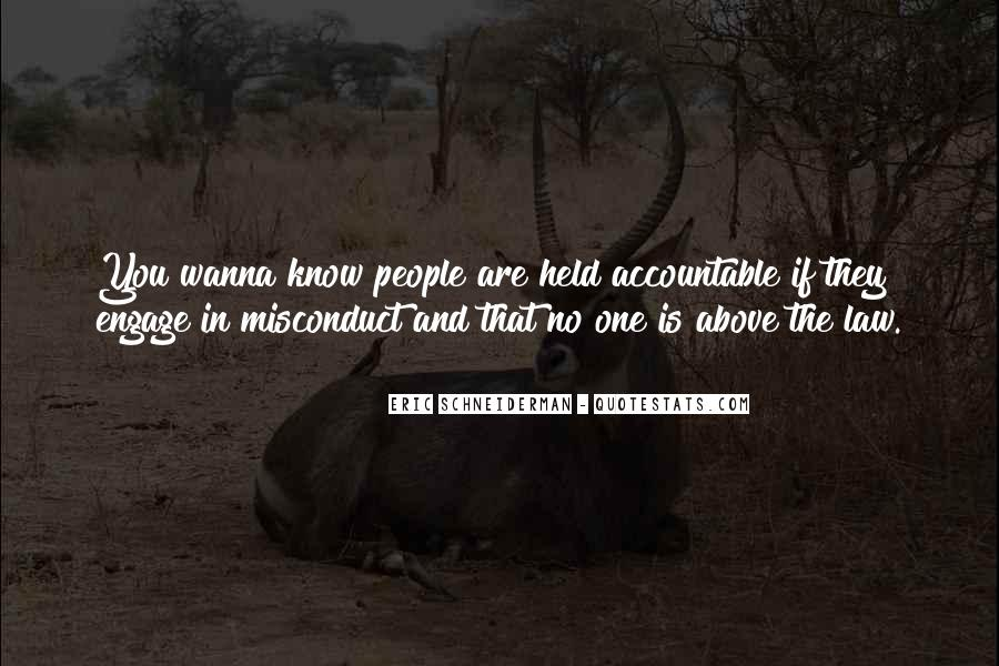 Quotes About Being Held Accountable #479901