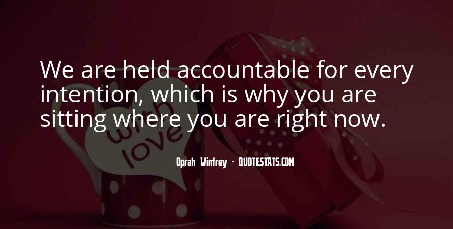 Quotes About Being Held Accountable #575389