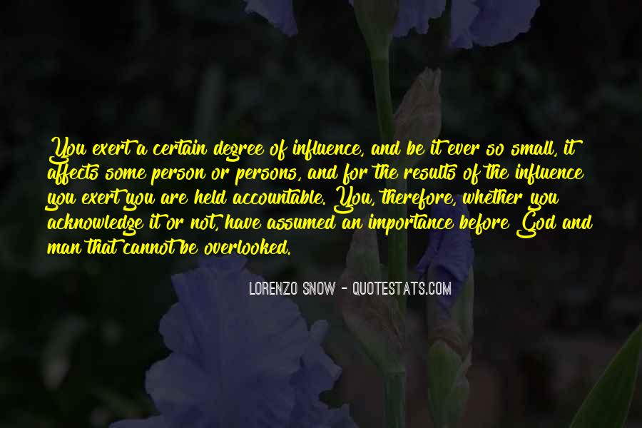 Quotes About Being Held Accountable #583846
