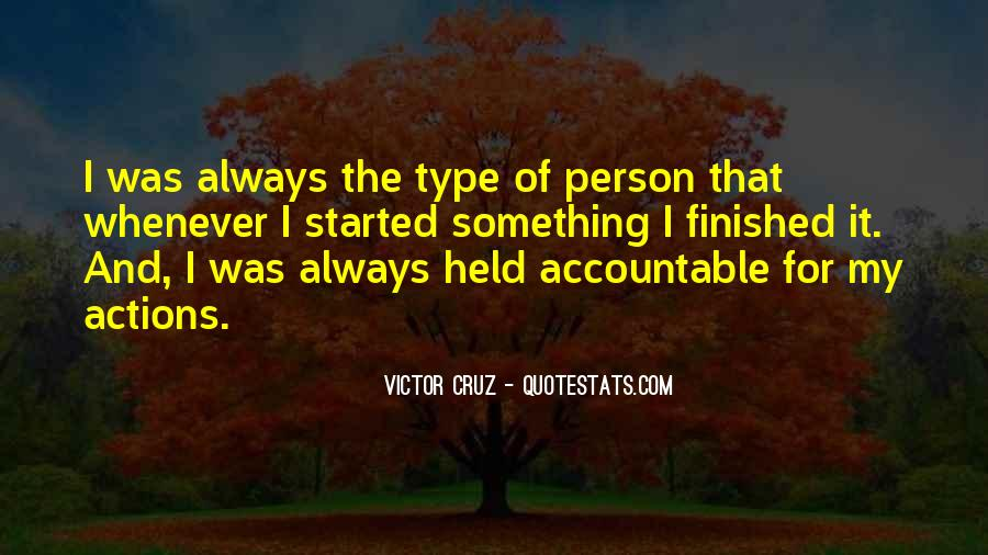 Quotes About Being Held Accountable #661508