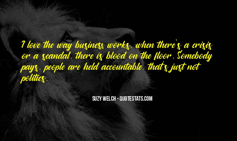 Quotes About Being Held Accountable #740884