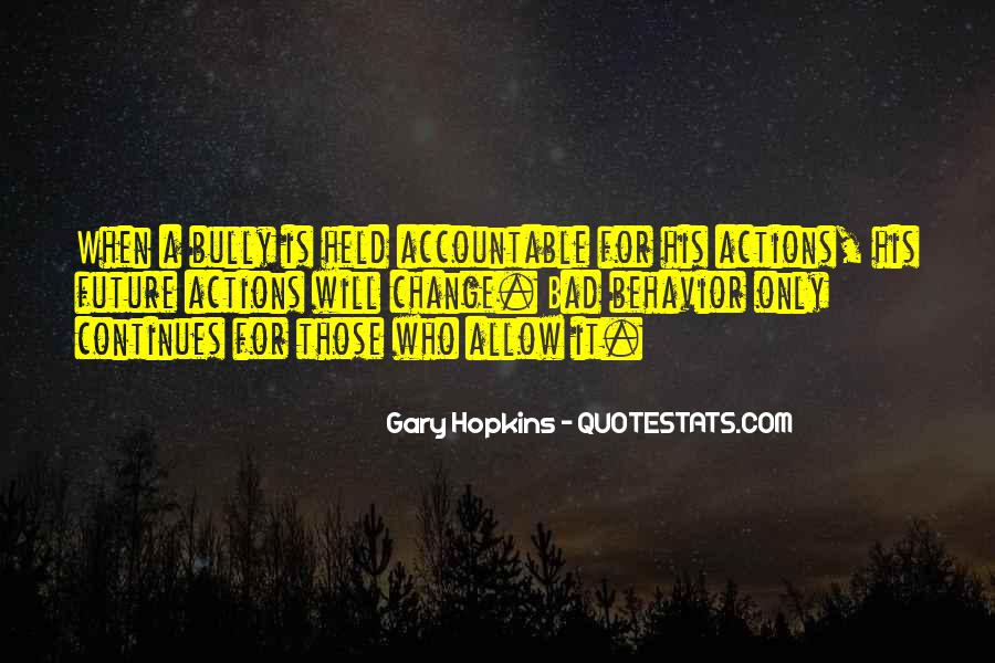 Quotes About Being Held Accountable #773366