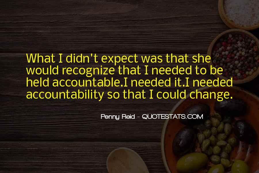 Quotes About Being Held Accountable #856740