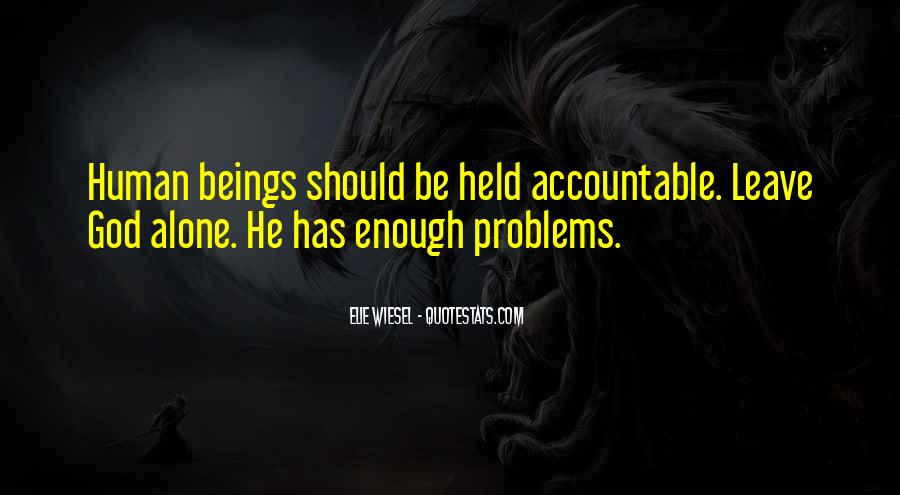 Quotes About Being Held Accountable #932652