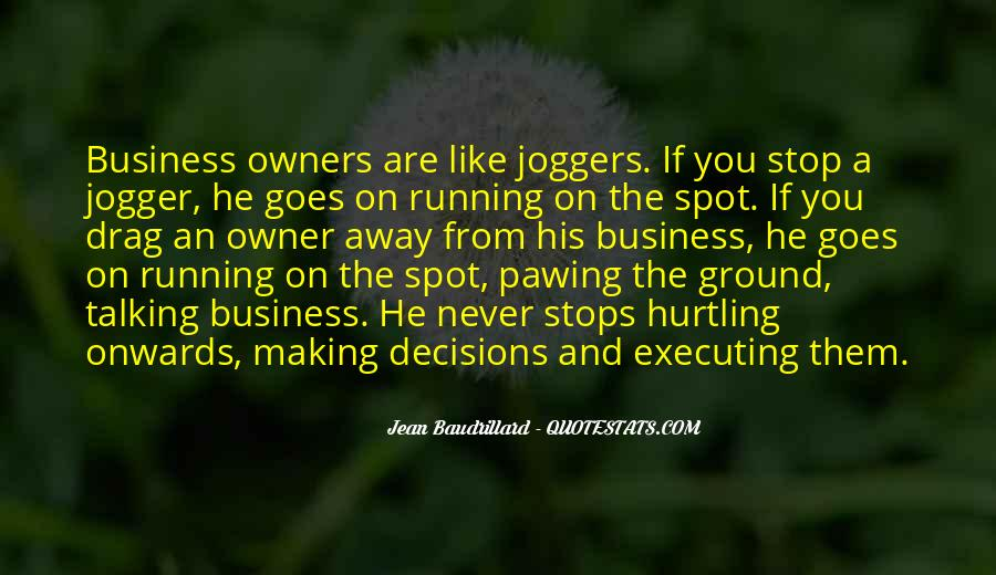 Jogger Quotes #1265731