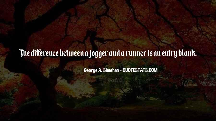 Jogger Quotes #92682