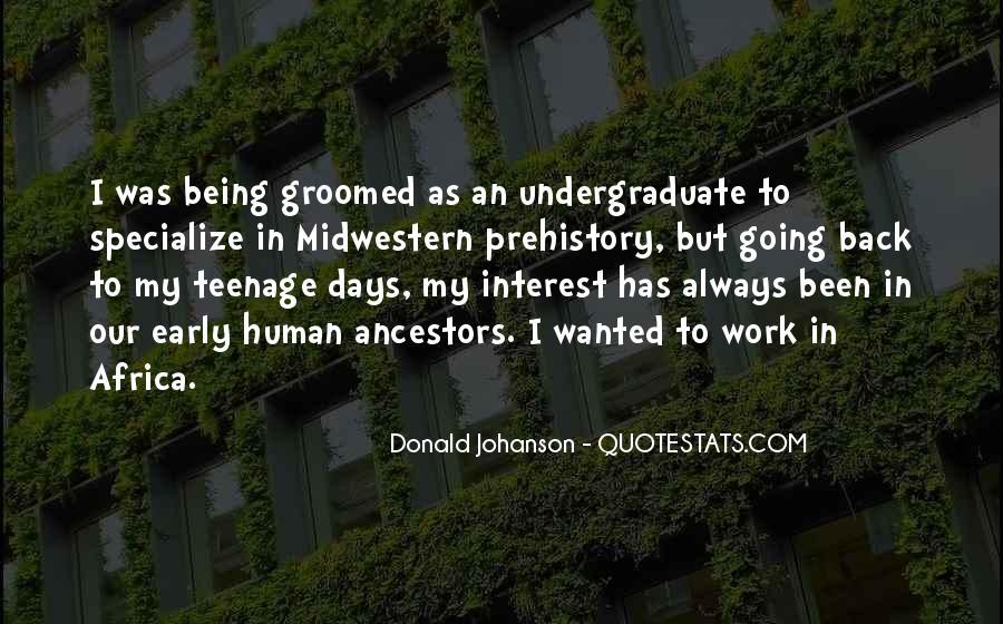 Johanson Quotes #153033