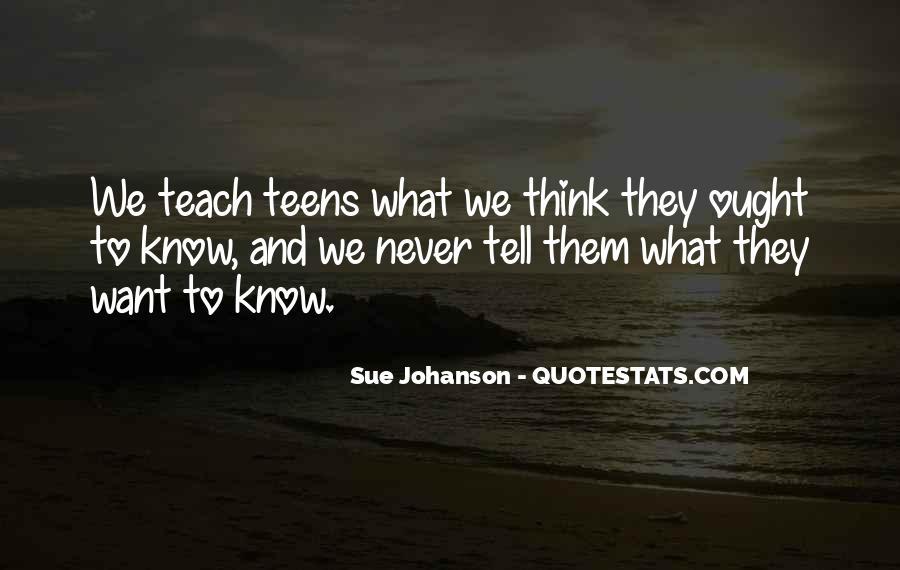 Johanson Quotes #1664341