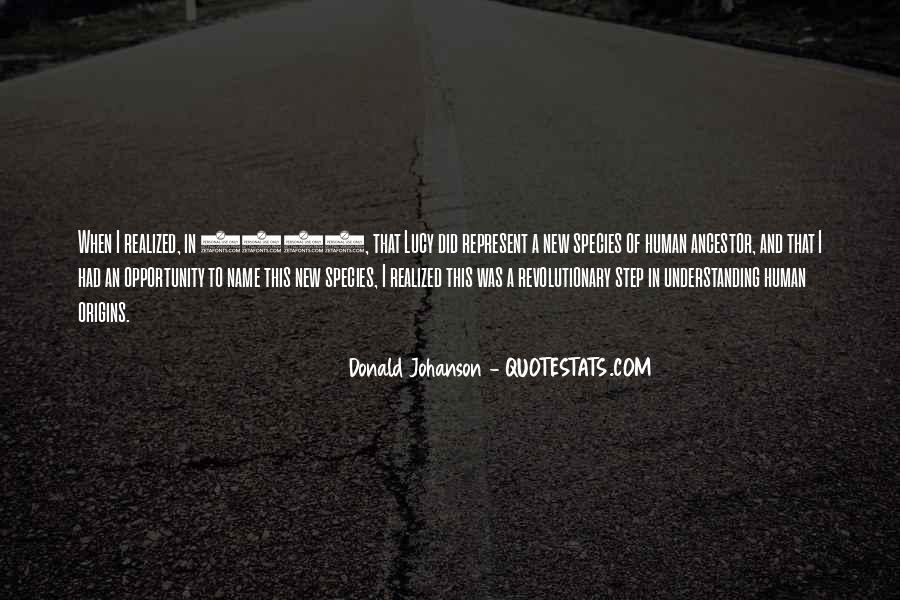 Johanson Quotes #1677785