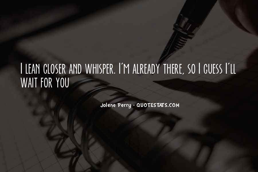 Jolene's Quotes #1644782