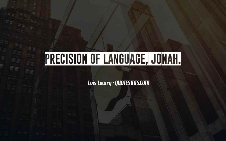 Jonah's Quotes #45423