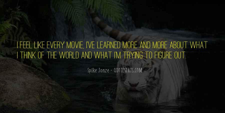 Jonze Quotes #1271703