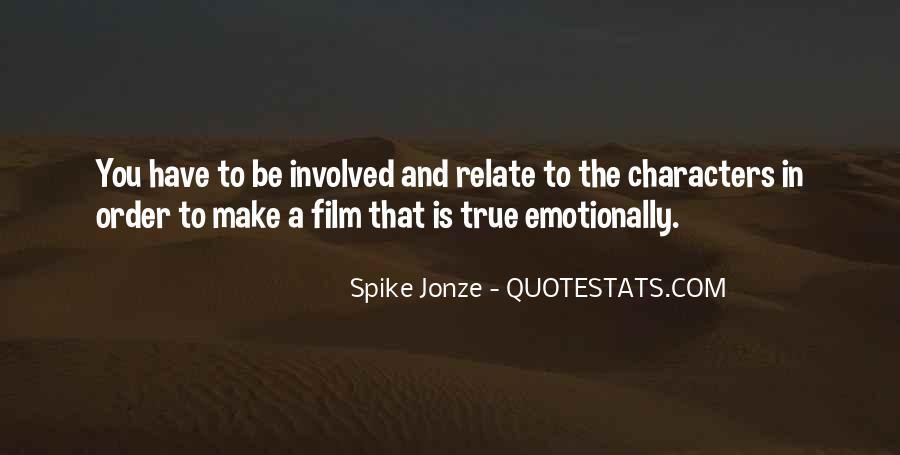 Jonze Quotes #1443332