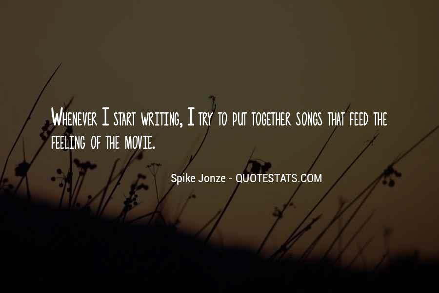 Jonze Quotes #175890
