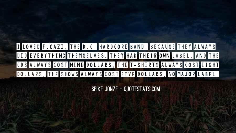Jonze Quotes #428366
