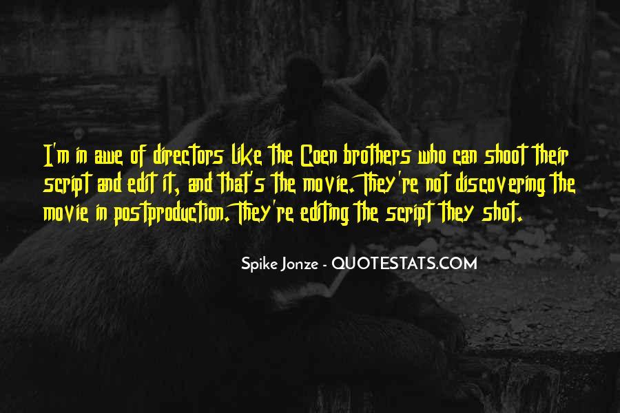 Jonze Quotes #77113
