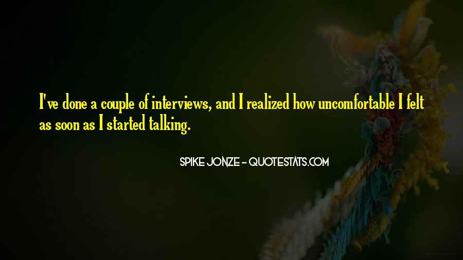 Jonze Quotes #922805