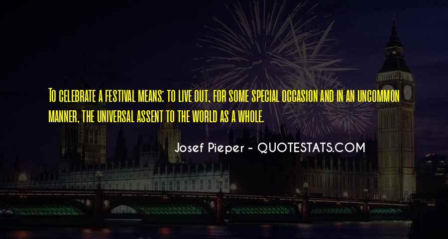 Josef's Quotes #557729
