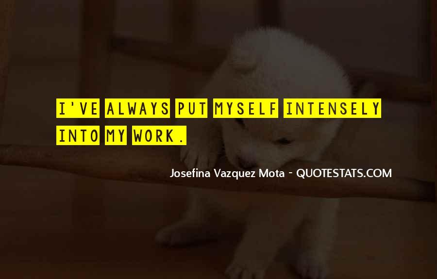 Josefina Quotes #651884