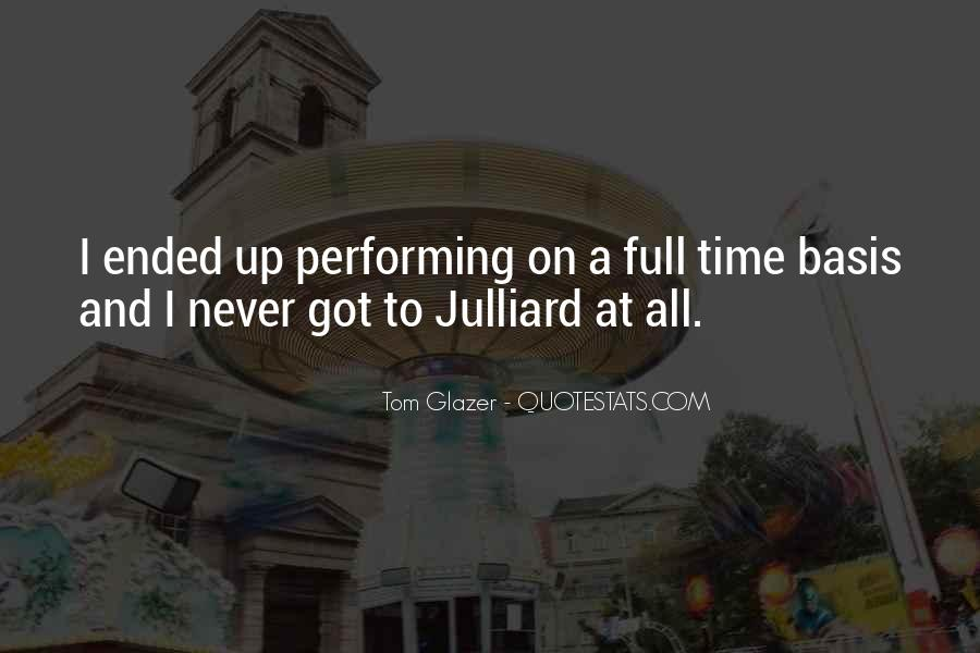 Julliard Quotes #1760686