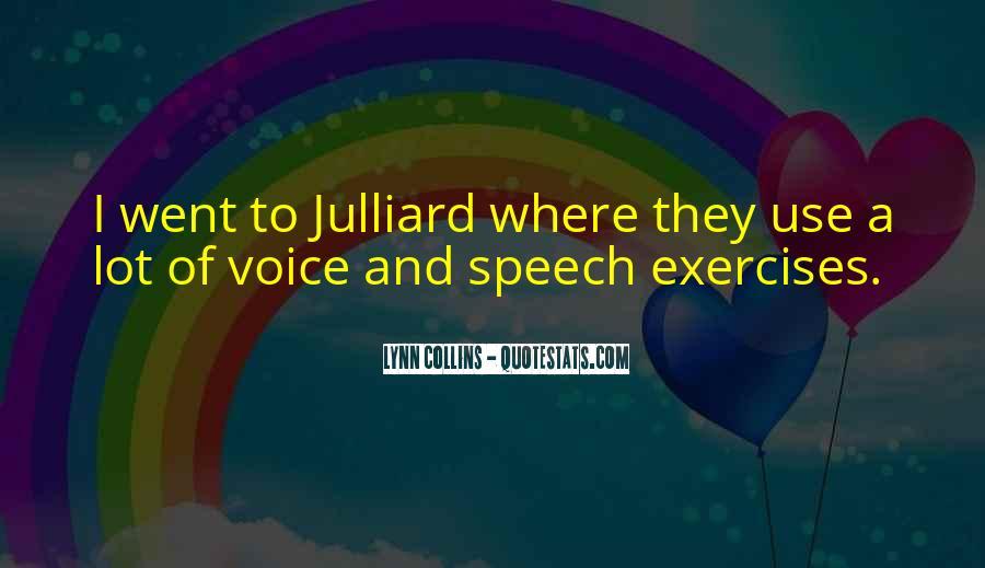 Julliard Quotes #231935