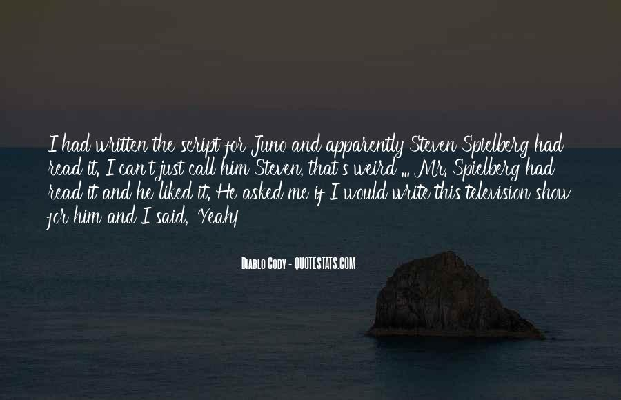 Juno's Quotes #1063472