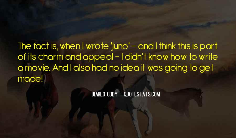 Juno's Quotes #1235681