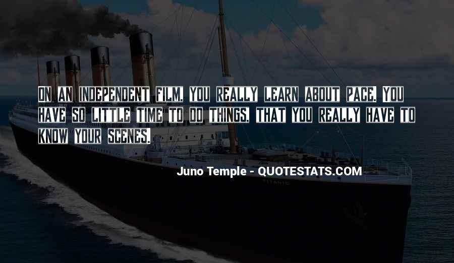 Juno's Quotes #1241586