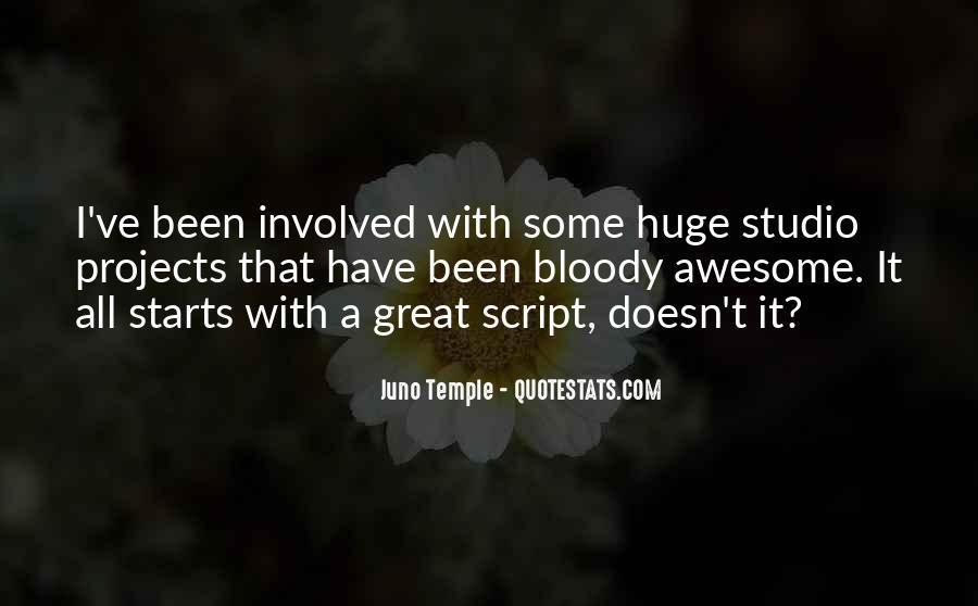 Juno's Quotes #1401862