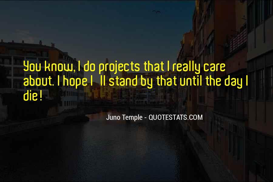 Juno's Quotes #1603707