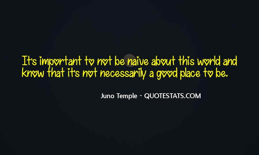 Juno's Quotes #602113