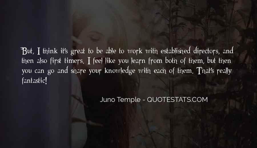 Juno's Quotes #905370