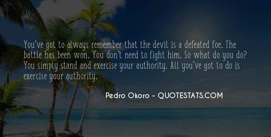 Quotes About Spiritual Warfare #243510
