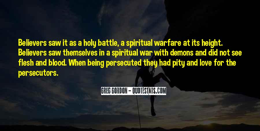 Quotes About Spiritual Warfare #275835