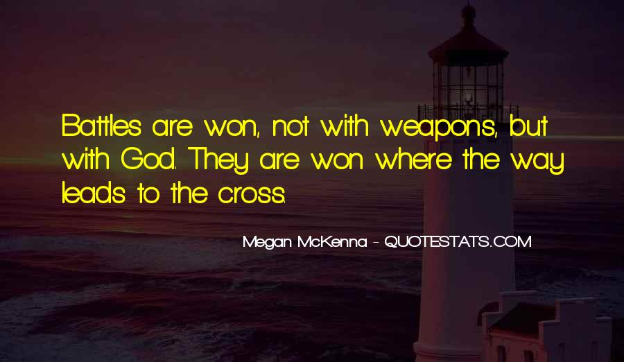 Quotes About Spiritual Warfare #378189