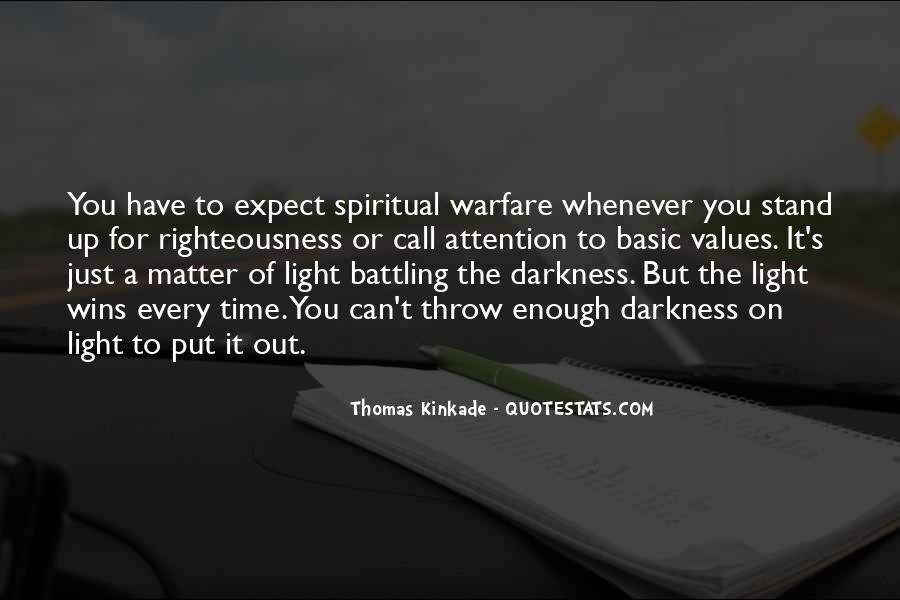 Quotes About Spiritual Warfare #385052