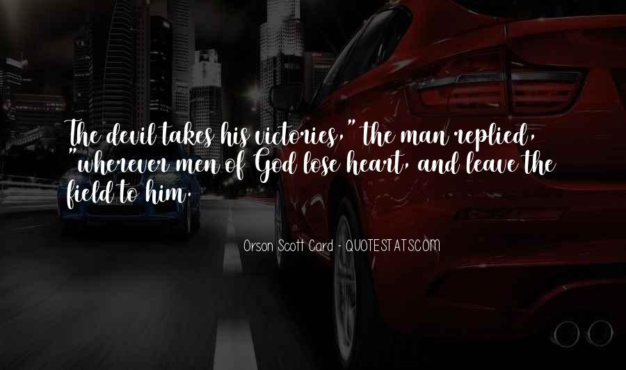 Quotes About Spiritual Warfare #388372