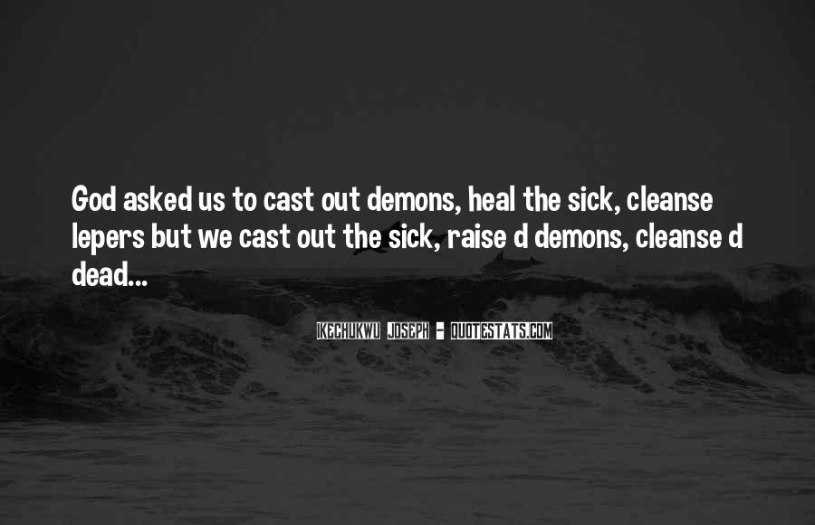 Quotes About Spiritual Warfare #510944