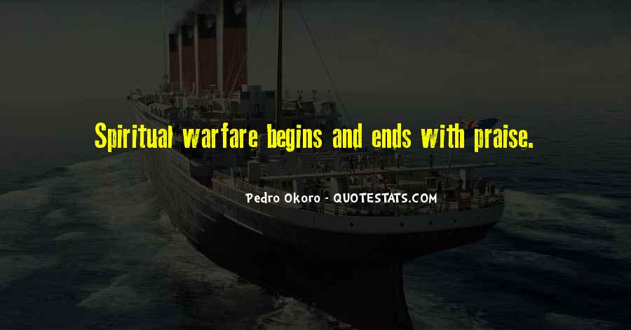 Quotes About Spiritual Warfare #593615
