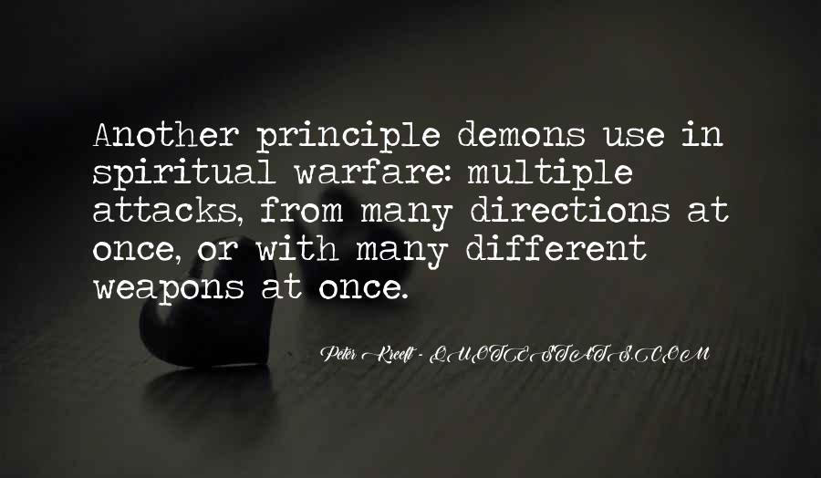 Quotes About Spiritual Warfare #923166