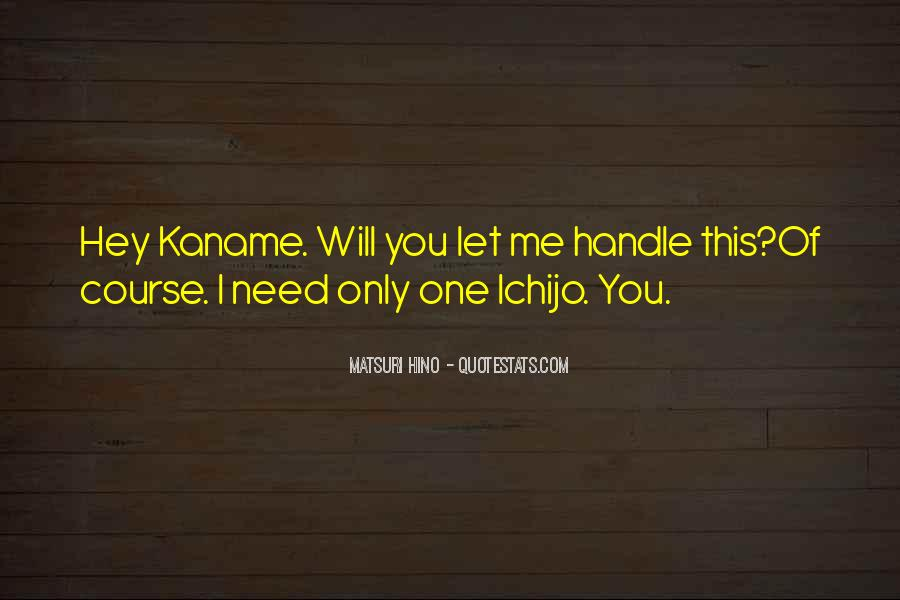 Kaname's Quotes #783103