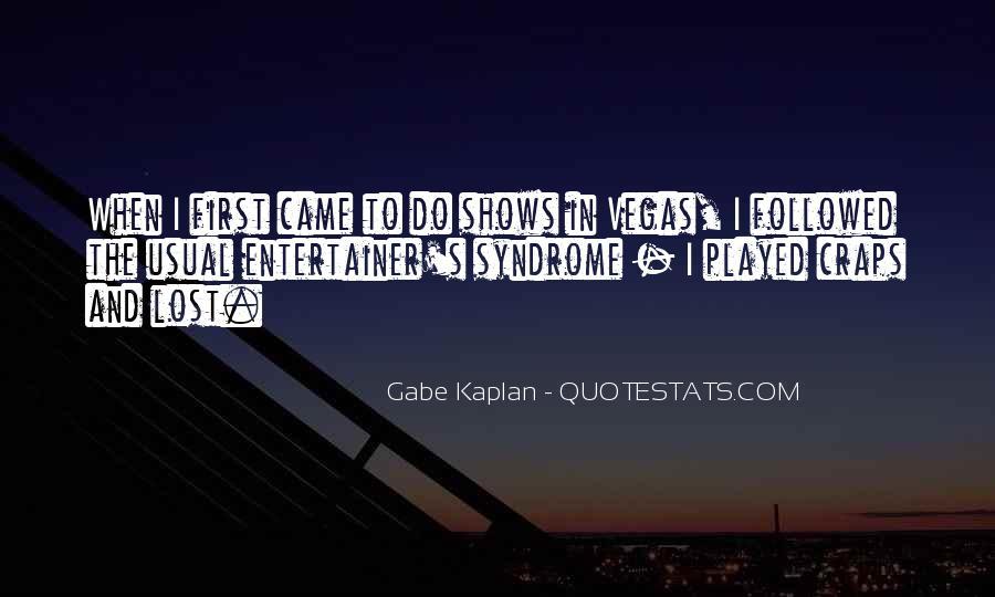 Kaplan's Quotes #1187738