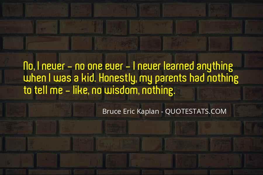 Kaplan's Quotes #169139