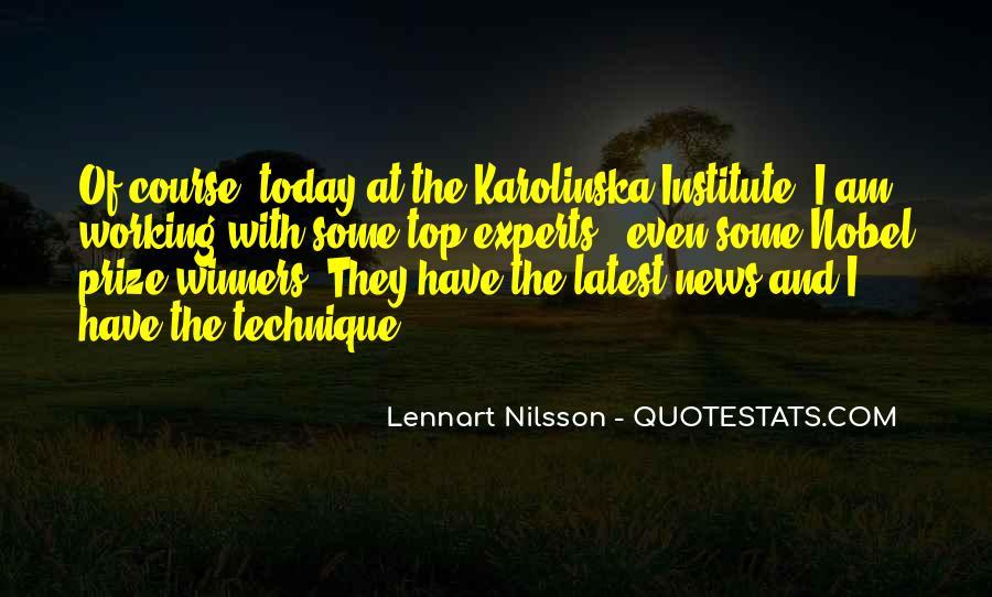 Karolinska Quotes #809281