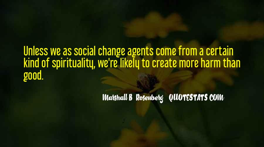 Quotes About Change Agents #1271497