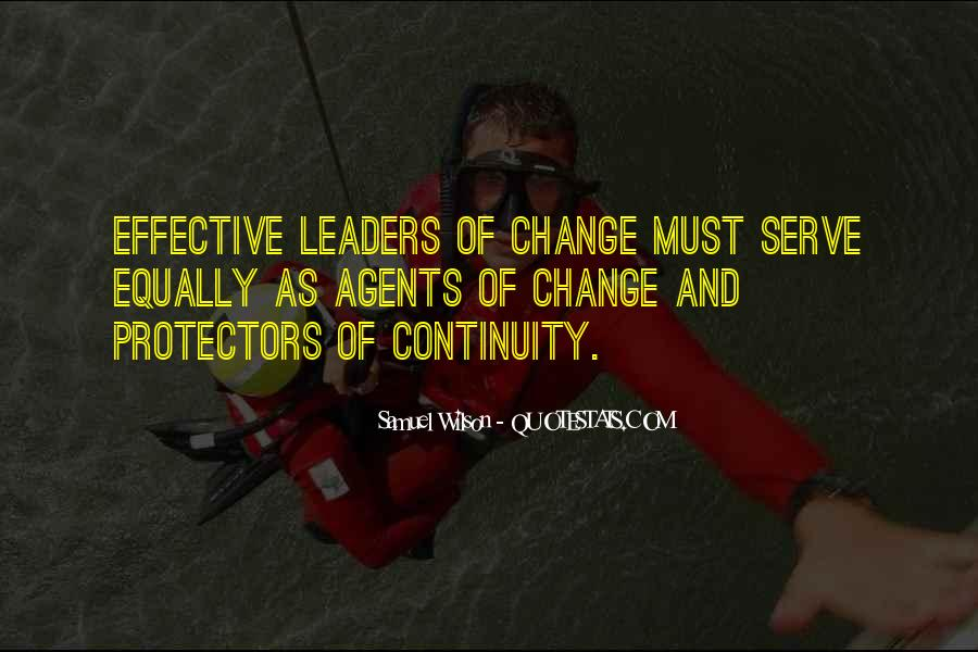 Quotes About Change Agents #1540197