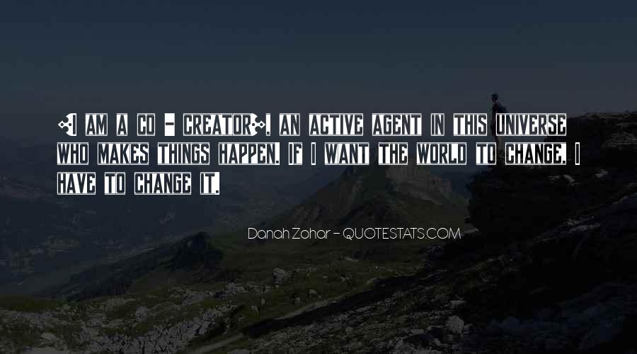 Quotes About Change Agents #1590524