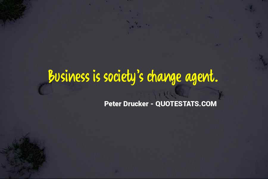 Quotes About Change Agents #1799623